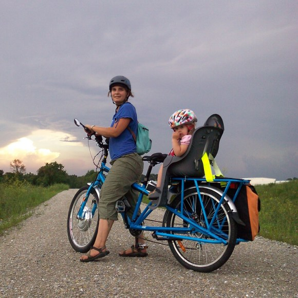 honey, how does this sound for the evening: cold leftovers and a 20 mile ride to pick black raspberries?