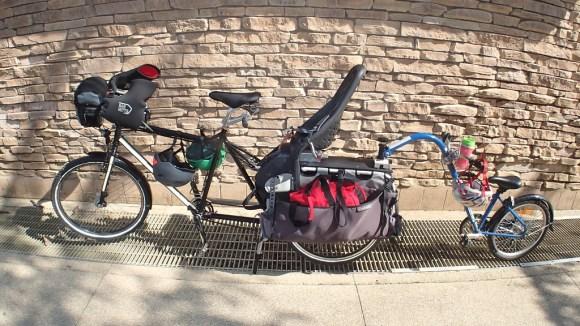 versatile, expandable Xtracycle