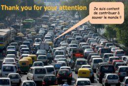 Hormis la pollution (de l'air et sonore) moindre, quelle différence lorsque toutes les voitures seront électriques? (Illustration tirée du PDF de présentation de François Vuille, Director Development Energy Center EPFL).