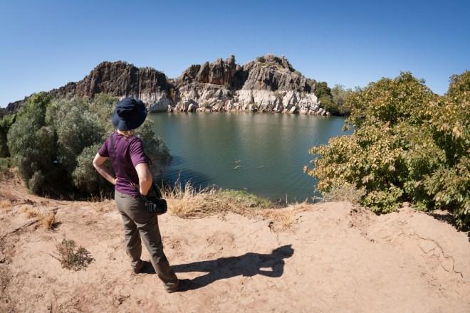 Ganz nah an den Krokodilen: Wandern in der Geikie Gorge