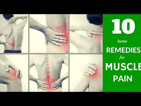 Natural Remedies For Relieving Muscle Pain