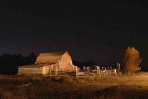 Barn in Jackson Hole Wyoming