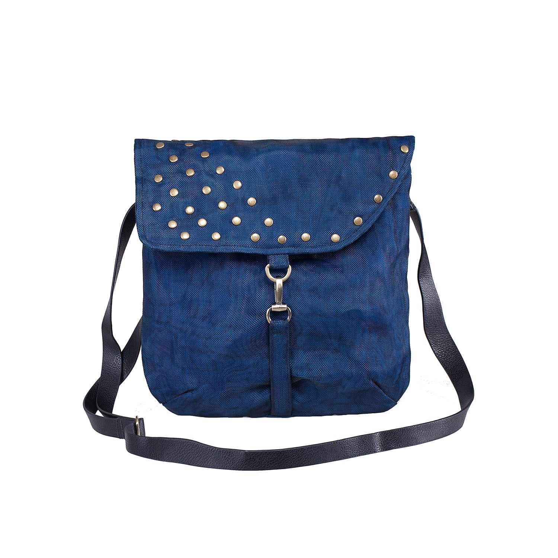 Le Crochet - Sac à bandoulière éthique - Bleu marine
