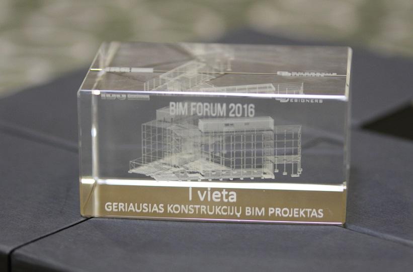 BIM Forum Vilnius 2016, apdovanojimai 11
