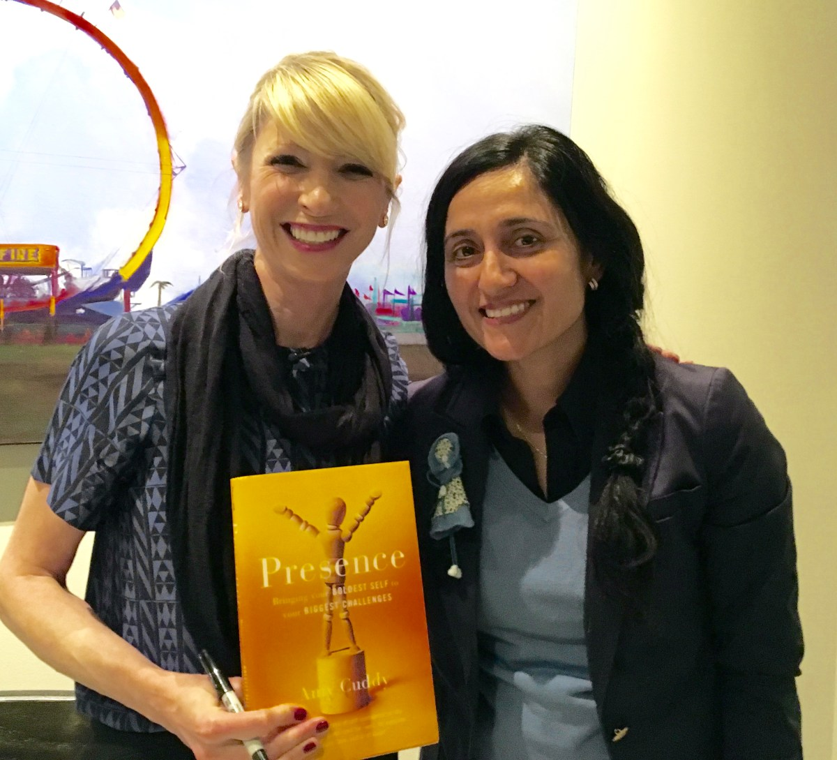 An evening with Amy Cuddy in Boston