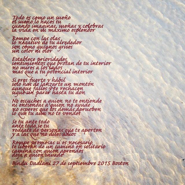 Poema: Todo es como un sueño