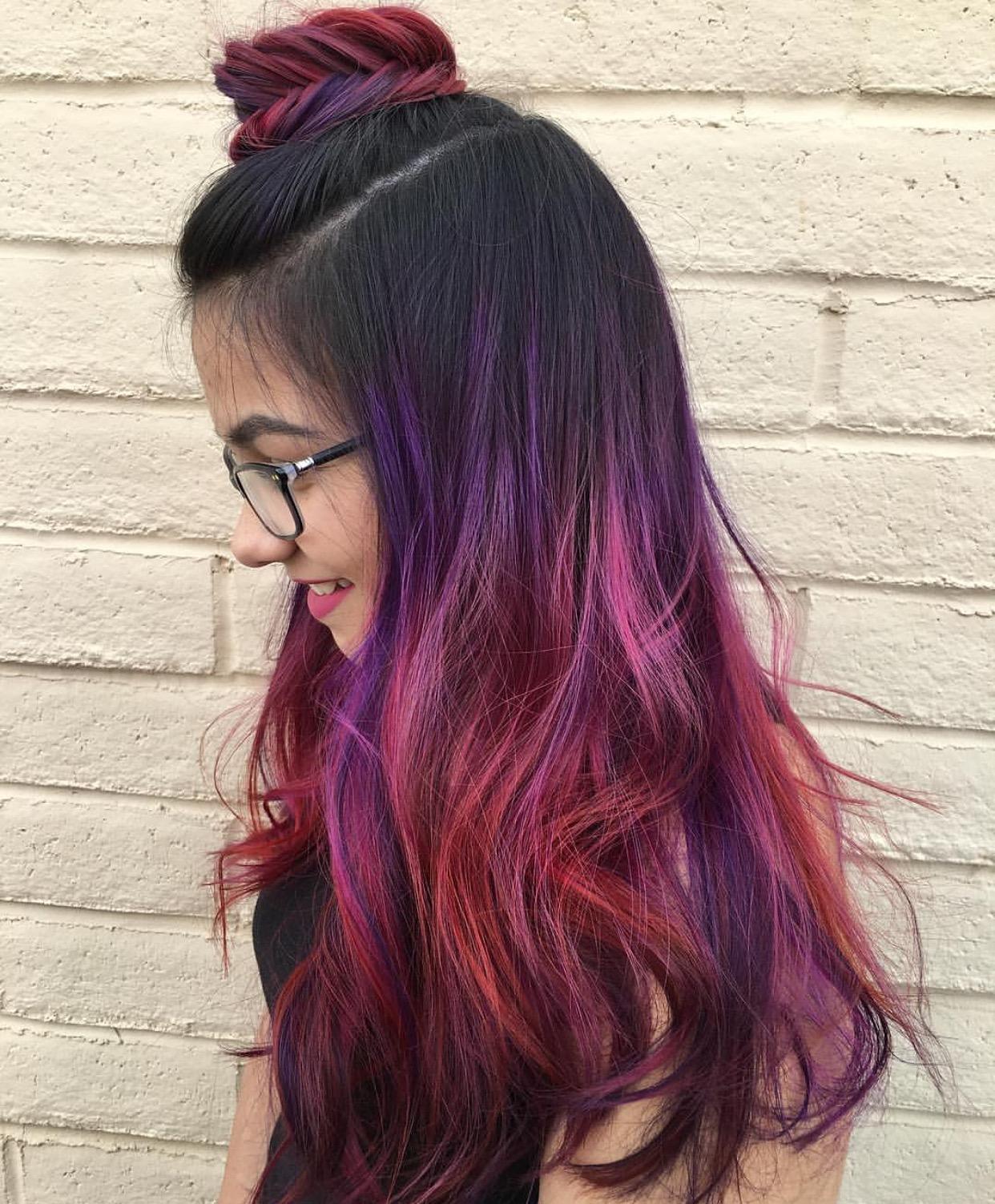 cara ombre rambut sendiri menggunakan pravana