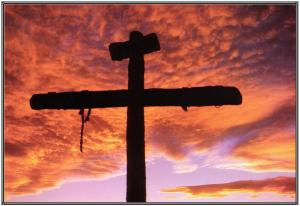 Cross from the movie the passion