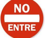 No entre