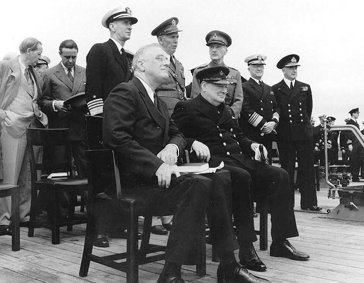 FDR Churchill WWII