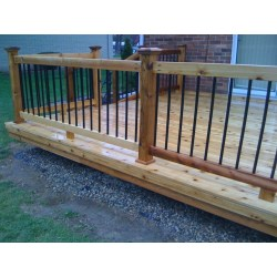 Small Crop Of Metal Deck Railing