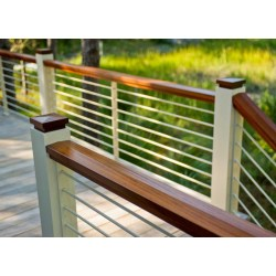 Small Crop Of Horizontal Deck Railing