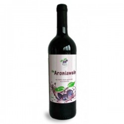 Arónia víno polosuché  BIO 750ml