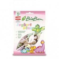 Cukríky Jogurtoví dinosauri BIO 80g