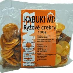 Krekry ryžové Kabuki-Mix 100g