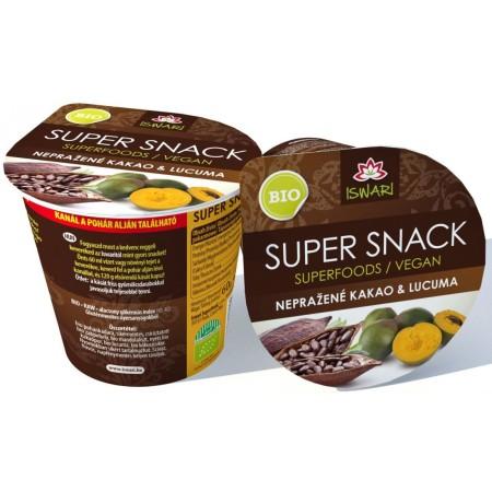 SuperSnack kakao-lucuma BIO RAW 60g