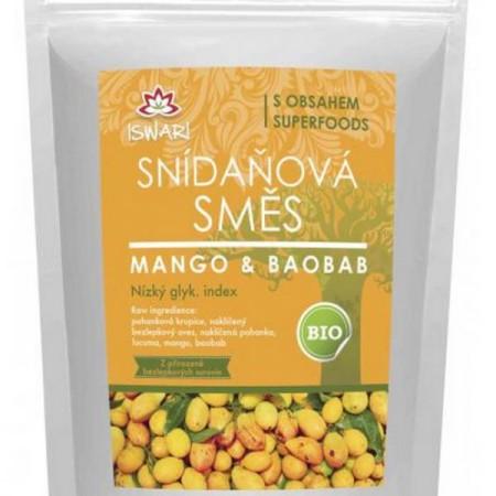 Raňajky zmes mango baobab BIO RAW