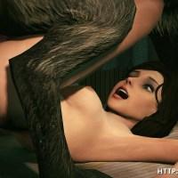 Elizabeth's got pounded by a beast