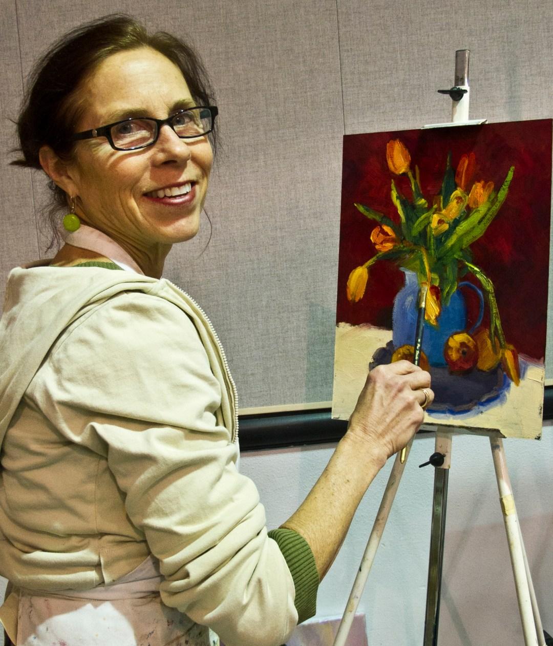 Oils and Acrylics with Sylvia Carlton