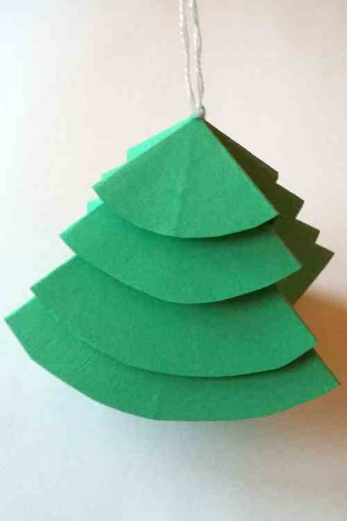 Medium Of Paper Christmas Decorations