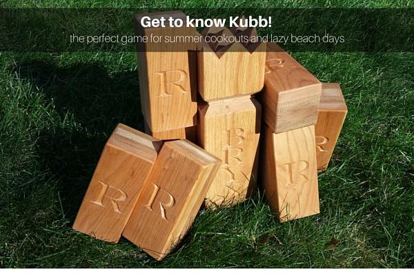 Kubb Lawn Game
