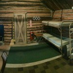 Inside Trapper Cabin