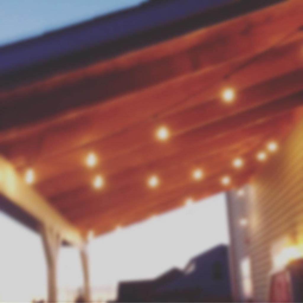 Summer evenings are better under lights