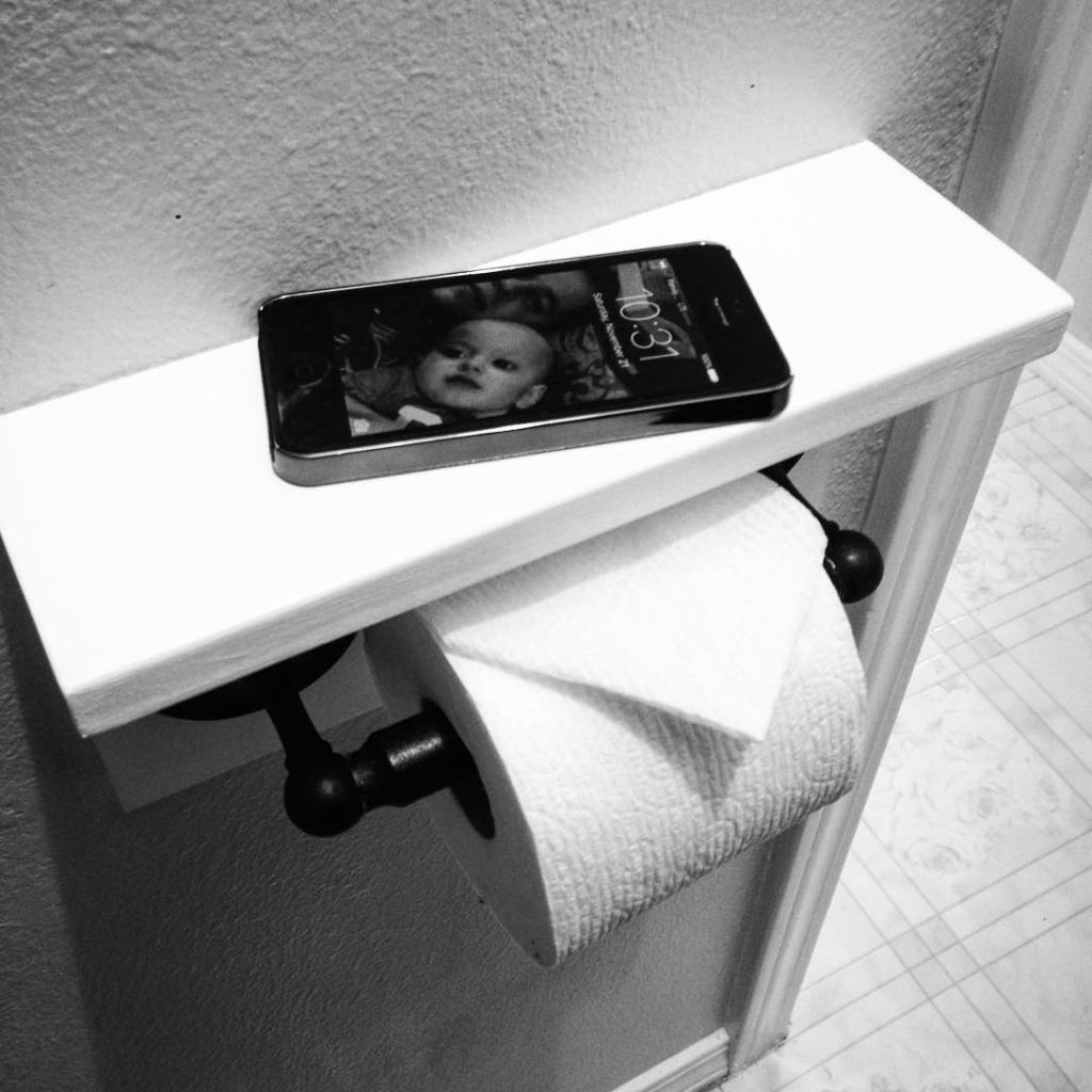 I just brought my toilet paper holder into 2015! creaturecomfortshellip