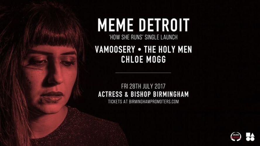 BPREVIEW: MeMe Detroit @ Actress & Bishop 28.07.17