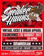 Sneaker Hawks - Bank Holiday Weekender @ Hawker Yard 26.08.17