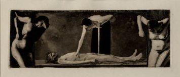 From many wounds you bleed, o People (1896) / Käthe Kollwitz