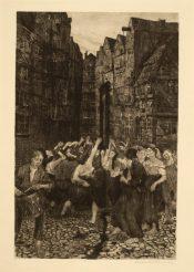Die Carmagnole (1901) / Käthe Kollwitz © The Trustees of the British Museum