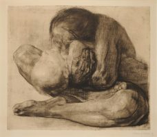 Woman with Dead Child (1903) / Käthe Kollwitz - The Henry Barber Trust © The Barber Institute of Fine Arts, University of Birmingham.