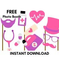 Free Doc McStuffins Photobooth Props