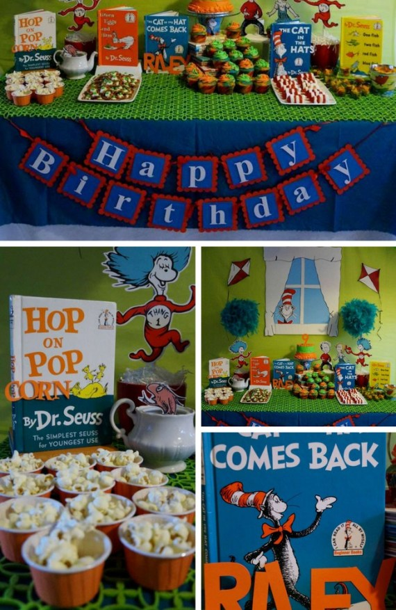 Dr-Seuss-Birthday-Party-decorations