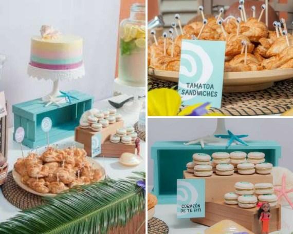 Moana Tropical Birthday Party
