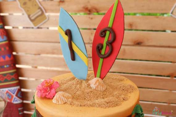 Tropical-Summer-Beach-Party-Cake-Topper