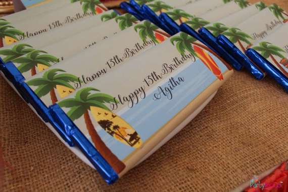 Tropical-Summer-Beach-Party-Chocolate-Candy-Bars