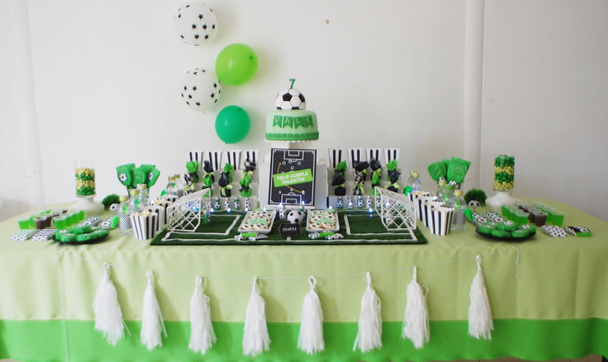Soccer Themed Birthday Celebration - Birthday Party Ideas ...