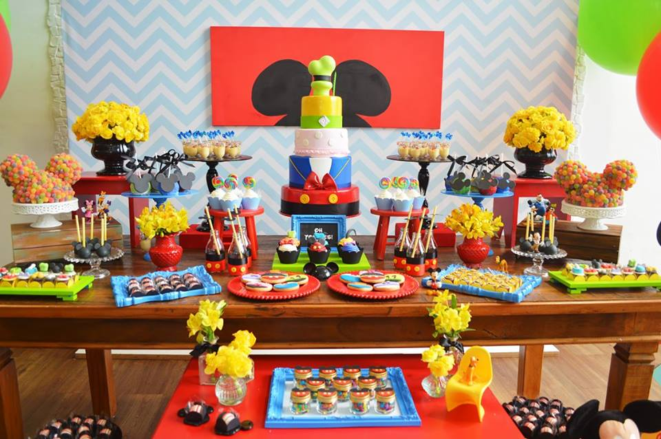mickey mouse first birthday adventure birthday party ideas themes