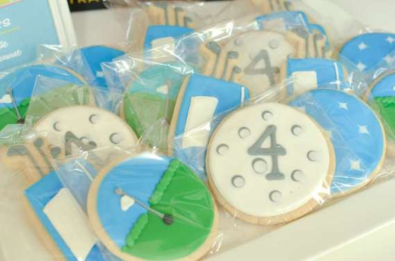 Palm-Springs-Inspired-Retro-Golf-Party-Sugar-Cookies