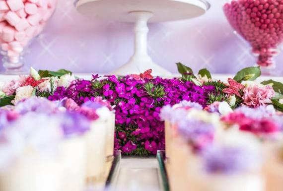Colorful-Secret-Garden-Birthday-Party-Purple-Flowers