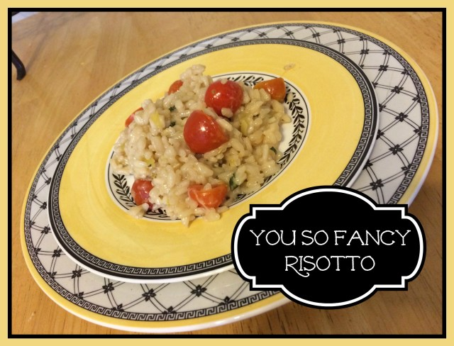 you so fancy risotto