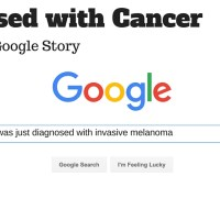 Diagnosed with Cancer: A Google Story