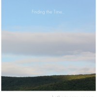 Finding the Time...