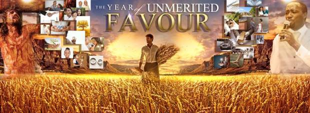 2015 Banner Year Of Unmerited Favour