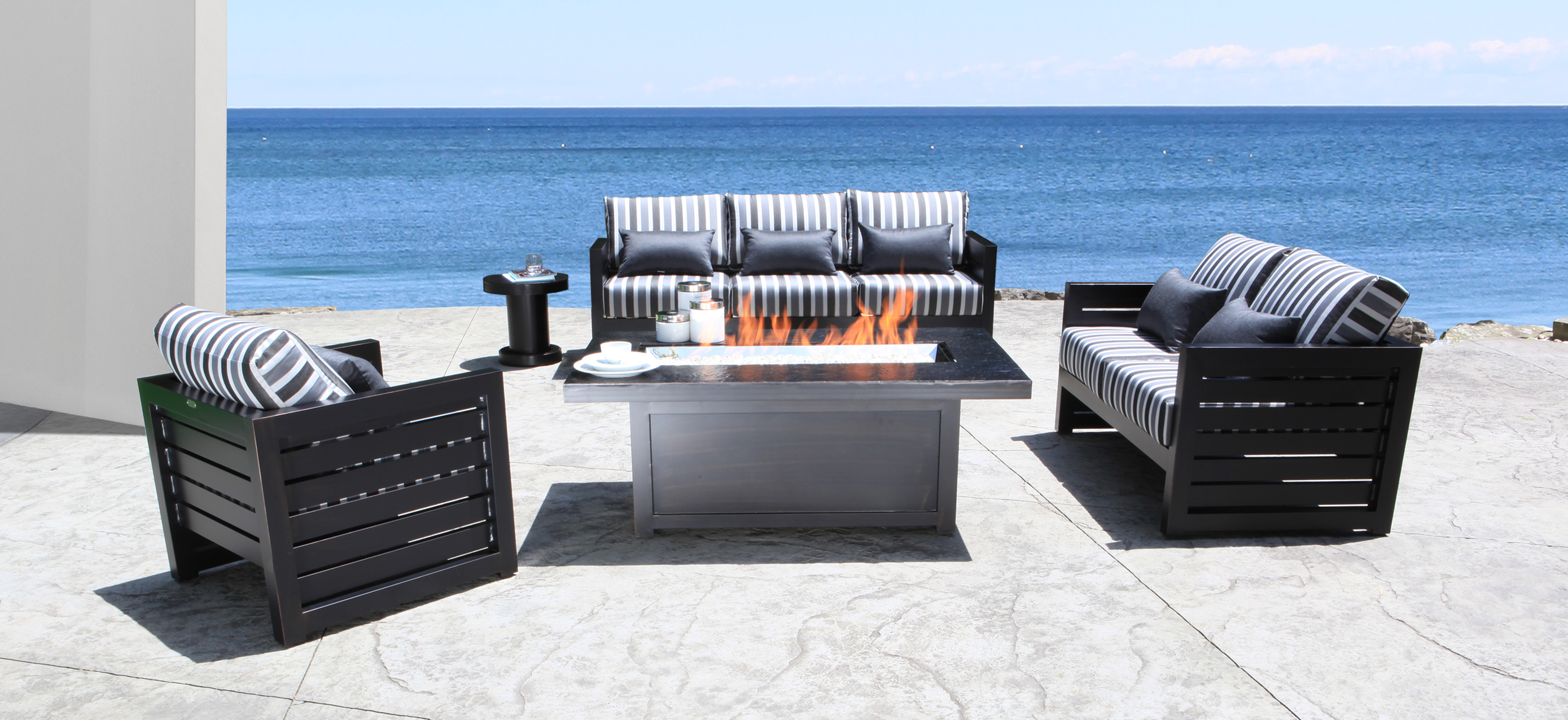 Cabana coast patio furniture lakeview deep seating for Outdoor living furniture