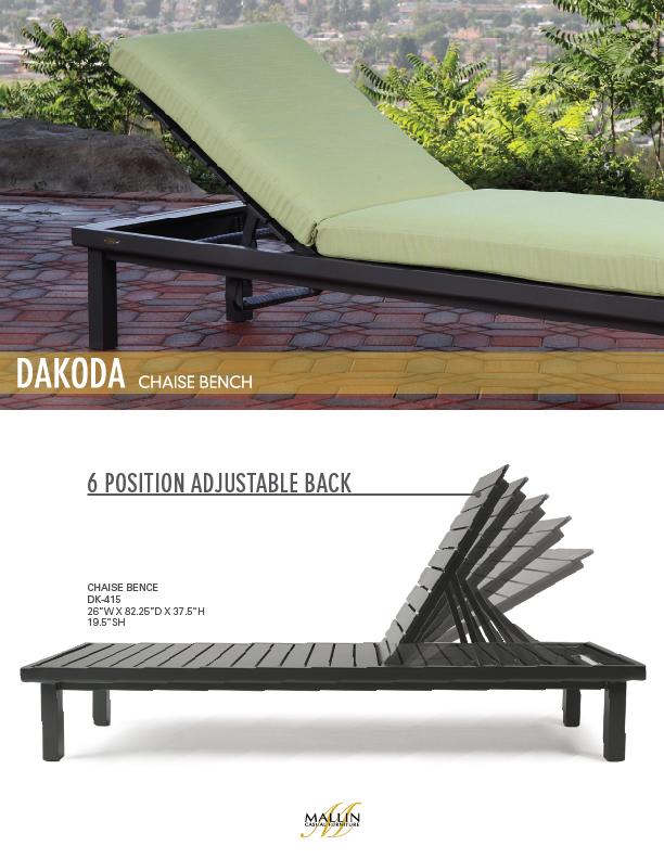 Mallin Outdoor Furniture – Urban Dakoda Deep Seating