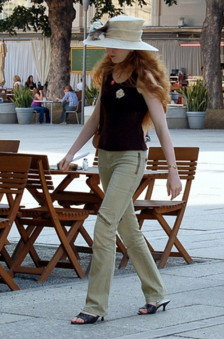 Parisienne Woman In Trousers - But Not For Long!
