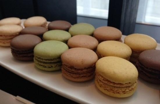Macarons from raddisson blu hotel